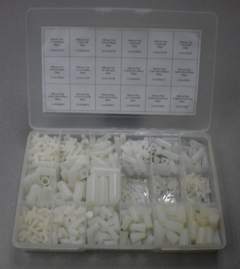Silicone Plugs and Cap Kit